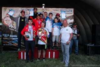 Результаты 6 этапа Открытого Кубка ДОСААФ России по мотокроссу в Ярославле 22-23 июля