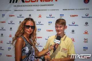 Максим Краев: падение на Чемпионате Мира по мотокроссу среди юниоров 2017
