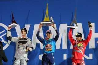 Суперкросс в Париже 2017: Марвин Маскуин выигрывает дома - день 1