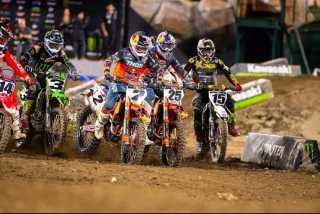 AMA Supercross 2019 Anaheim 2 - Лучшие видео моменты гонки Анахейм 2