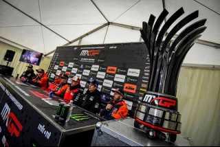 Новый  специальный кубок-трофей чемпионата мира MXGP 2020