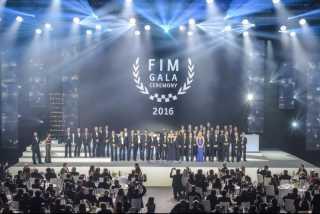 ВИДЕО: Россия на торжественной церемонии чествования чемпионов мотоспорта!