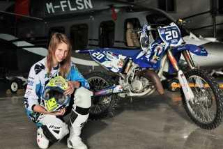 Мотокросс: неисправный датчик Любы Леонтьевой на втором этапе Чемпионата Мира по мотокроссу среди женщин!
