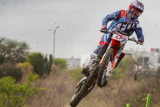 Мотокросс: Евгений Бобрышев - травмирование на квалификации - Гран При Италии